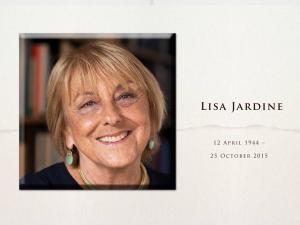 Lisa Jardine memorial